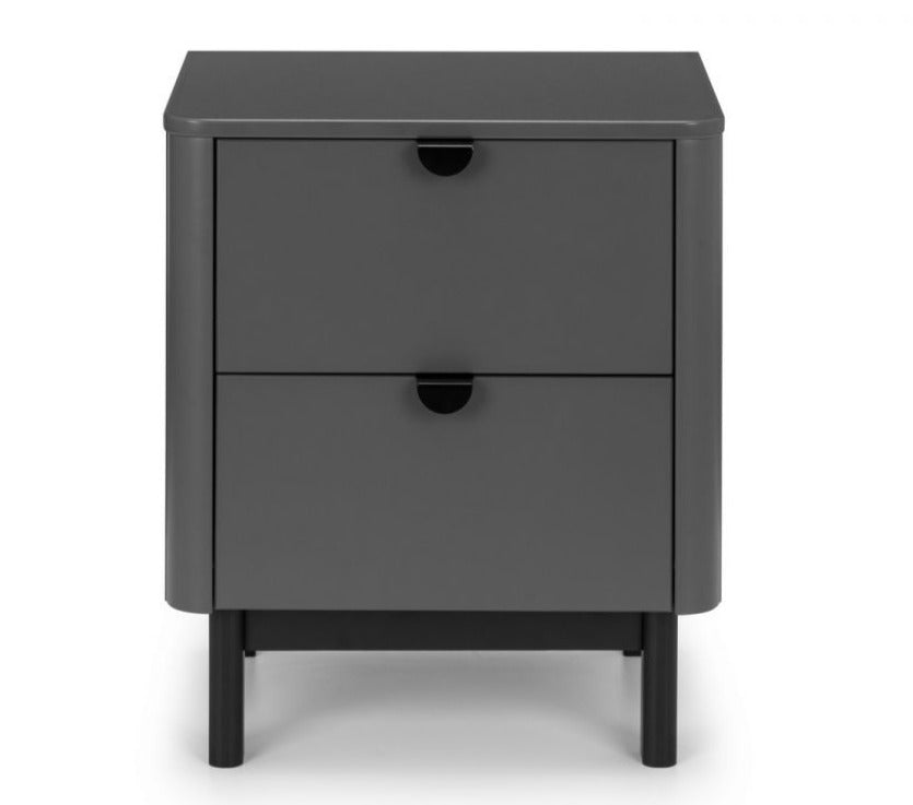 Celine 2 Drawer Bedside