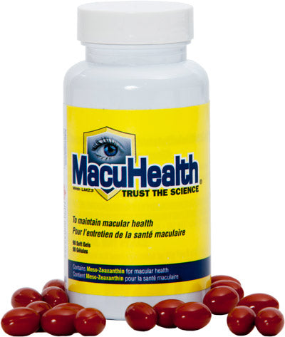 Macuhealth - Eye Vitamins for Macular Degeneration