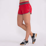 Go-To Twist Short Crimson