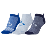 Mens Performance No Show Compression Sock 3pack