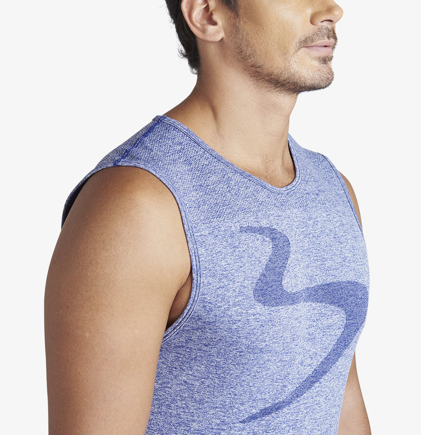 Zone Power Stripe Muscle Tee