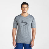 Zone Power Stripe Tech Tee