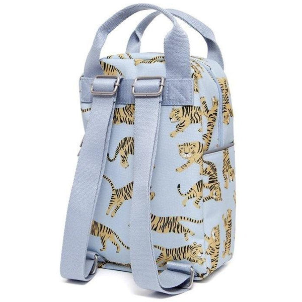 PETIT MONKEY GREY TIGER BACKPACK - DESIGNED IN THE NETHERLANDS, CREATED USING RECYCLED BOTTLES
