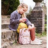 PETIT MONKEY GECKO BACKPACK - DESIGNED IN THE NETHERLANDS, CREATED USING RECYCLED BOTTLES