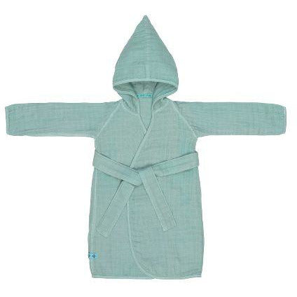 LÄSSIG MUSLIN BATHROBE - MINT