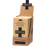 PATCH ON-THE-GO-PACK BITES & SPLINTERS - ACTIVATED CHARCOAL ADHESIVE BANDAGES - 4 PACK
