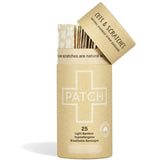 PATCH CUTS & SCRATCHES - NATURAL ADHESIVE BANDAGES - TUBE OF 25