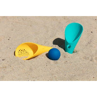 The Cuppi - by Quut - Lagoon Green + Mellow Yellow & Deep Blue Ball