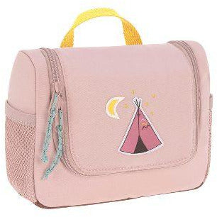 LÄSSIG TODDLER SIZE TOILETRY BAG - DUSTY PINK