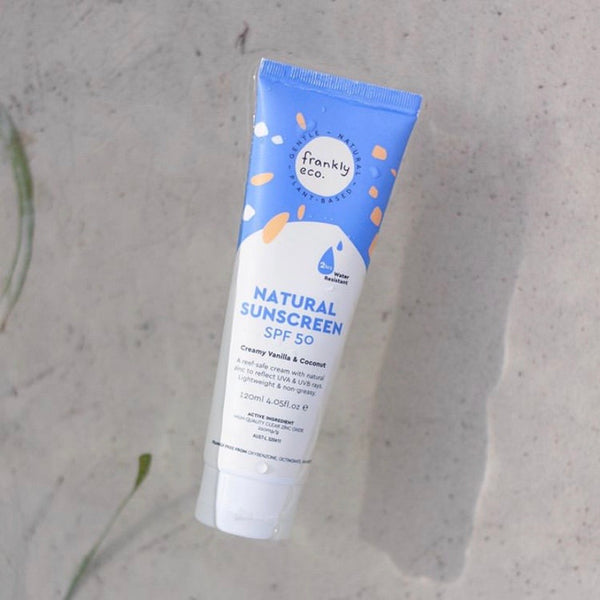 FRANKLY ECO NATURAL SUNSCREEN - 120ML (PRE-ORDER)