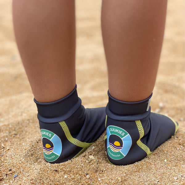 DUUKIES BEACH SOCKS  - GREY