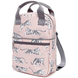 PETIT MONKEY WHITE TIGERS BACKPACK - DESIGNED IN THE NETHERLANDS, CREATED USING RECYCLED BOTTLES