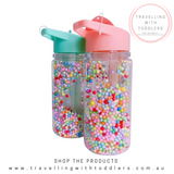 NEW!!! PETIT MONKEY POPS - LILAC DRINK BOTTLE (PRE-ORDER)