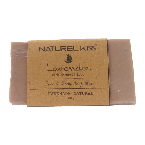 Naturel Kiss Lavender with Gromwell Root Face & Body Soap Bar