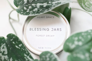 BLESSING JAR. FOREST DREAM Soy Wax Candle. 8oz