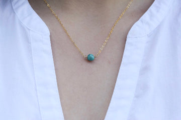 Turquoise Necklace - Metalvine