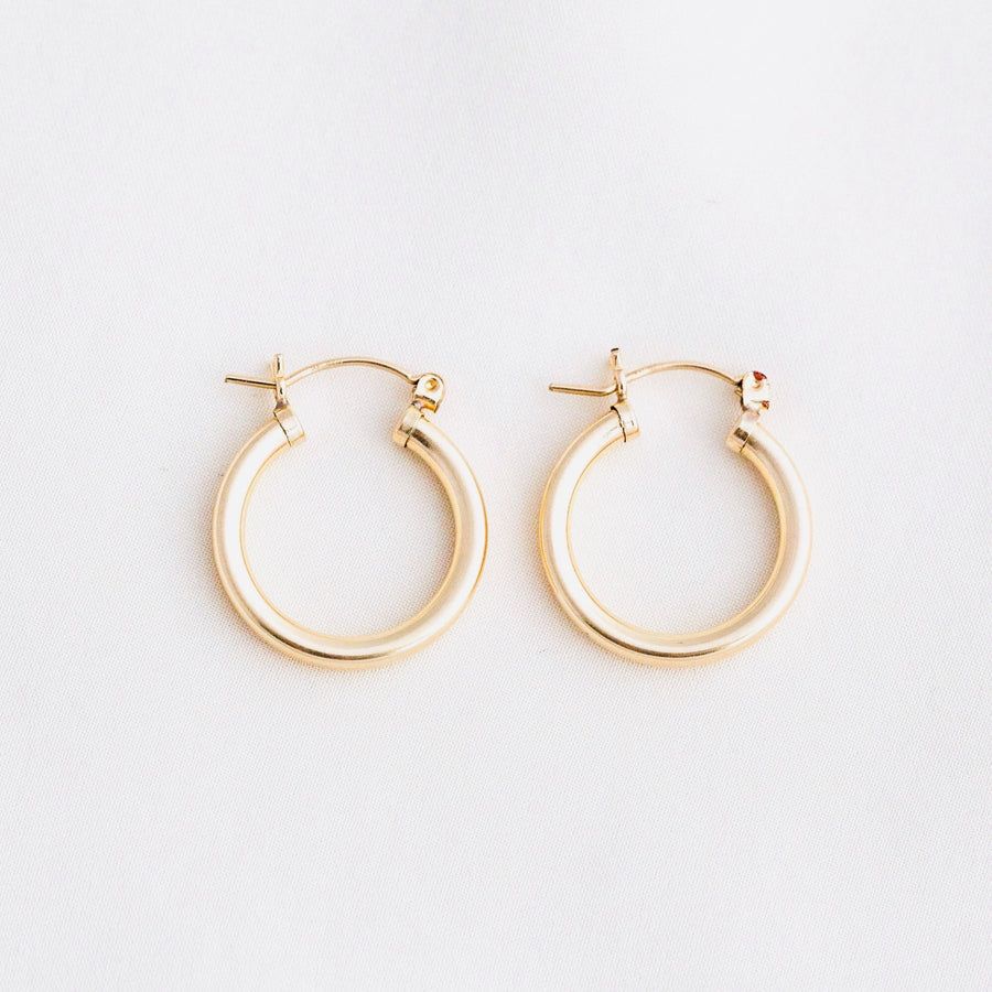 Thick & Chunky Hoop Earrings