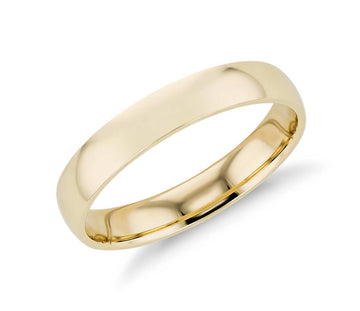 Classic Wedding Band | 4mm