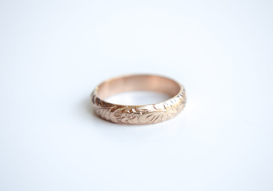 Pattern His and Hers Rings