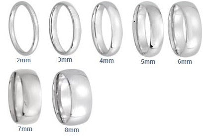 Classic Wedding Band | 4mm Matte