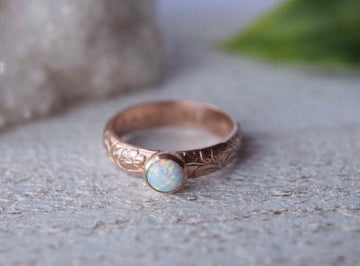 Opal Ring - Metalvine