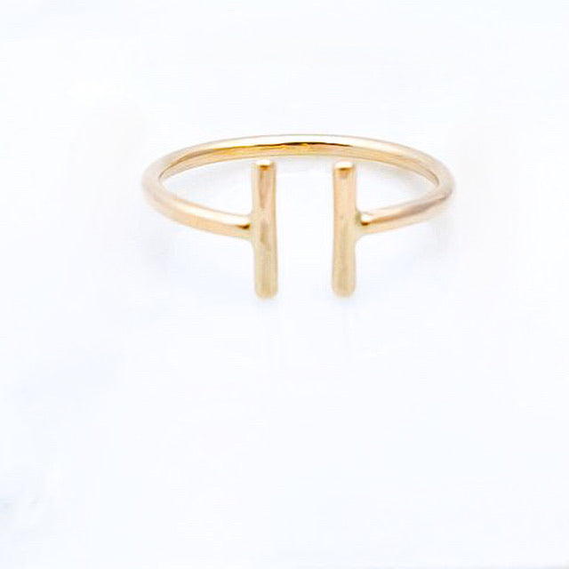 Parallel Ring- Adjustable Ring