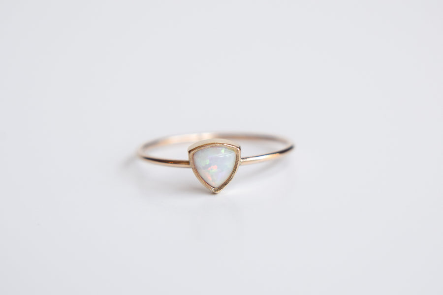 Opal Ring | Trillion Opal Ring