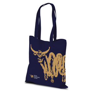 RHS Navy Event Cotton Shopper