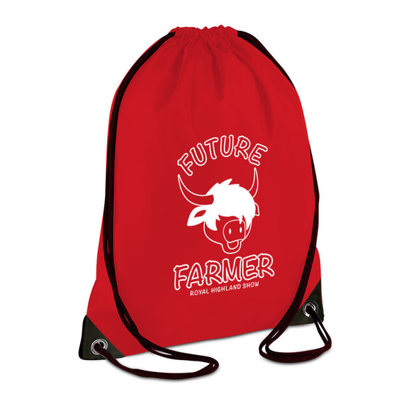 RHS Future Farmer Gymsack - Red