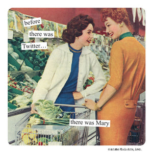 Twitter - Anne Taintor Magnet