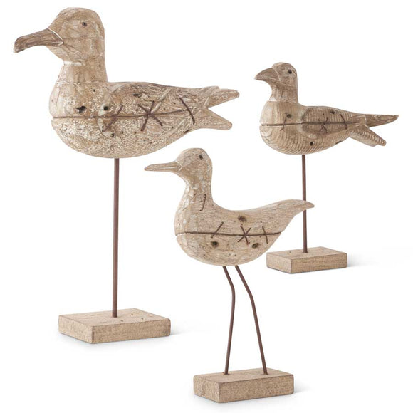Bird on Stand - 3 Assorted