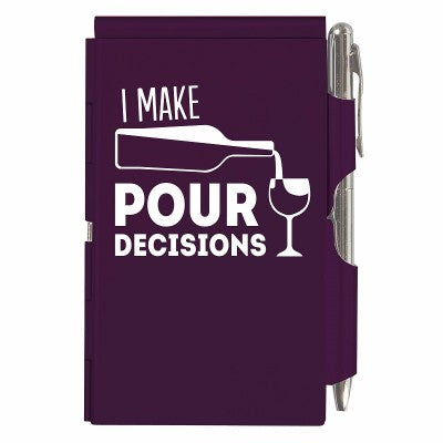 Flip Note - Pour Decisions Purple
