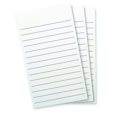 Flip Note - Refill - Lined Paper - 3 Pad Pack