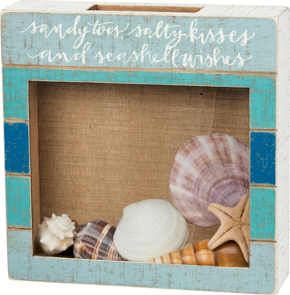 Shell Holder - Sandy Toes Seashell Wishes