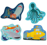Deep Sea First Puzzles 3, 4, 6, 8 Piece