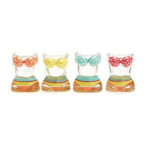 Bikini Shot Glasses in Gift Box - S/4