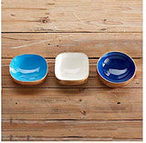 Wooden Bowls - 3 Assorted Colors/Shapes