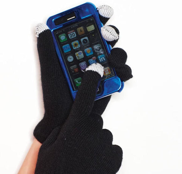 Keep In Touch Gloves - With Touchscreen Tips