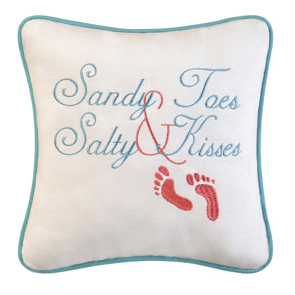 Sandy Toes Pillow