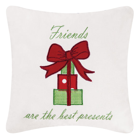 Friends Are Best Presents Pillow