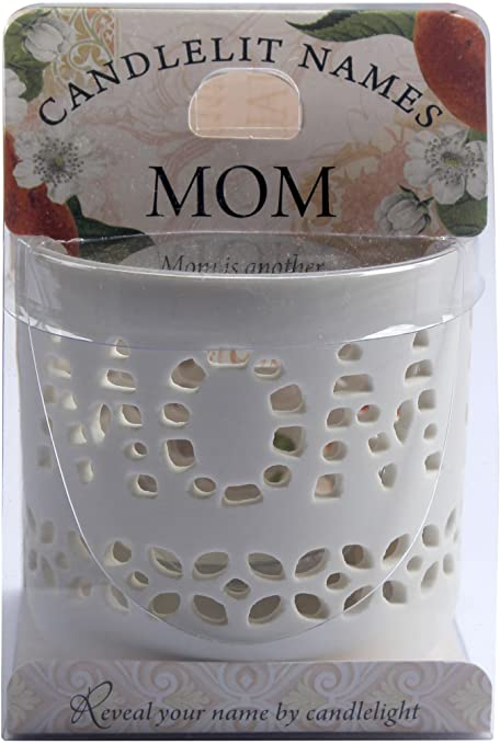 Candlelit Names Porcelain Tealight Holder - 1
