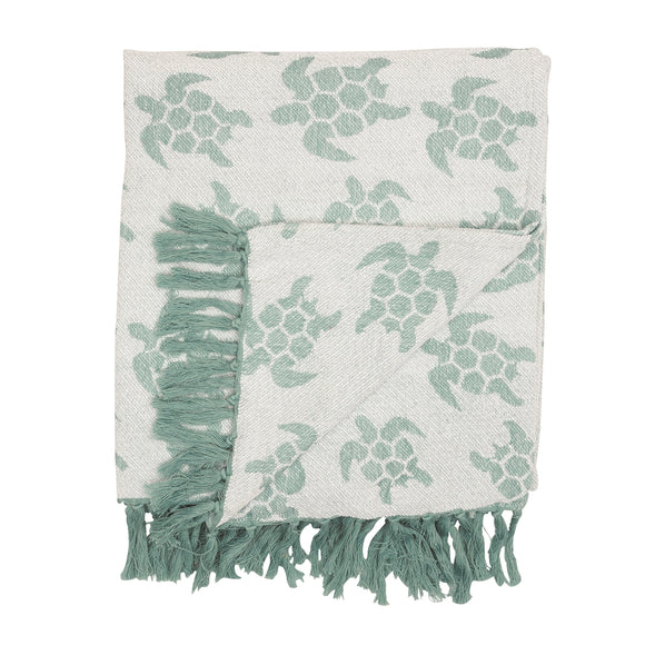Chenille Sea Turtles - Throw