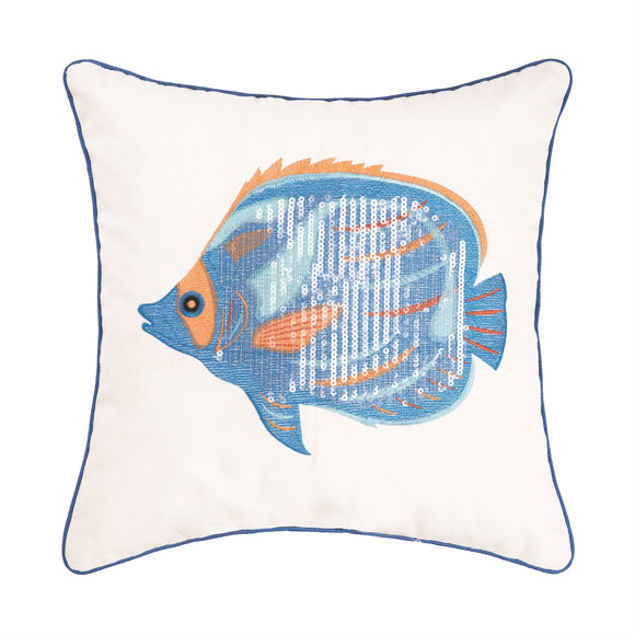 Galapagos Fish Pillow