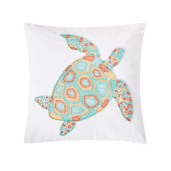 Grand Turks Turtle Pillow