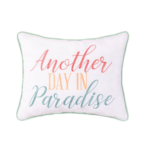 Day In Paradiise Pillow