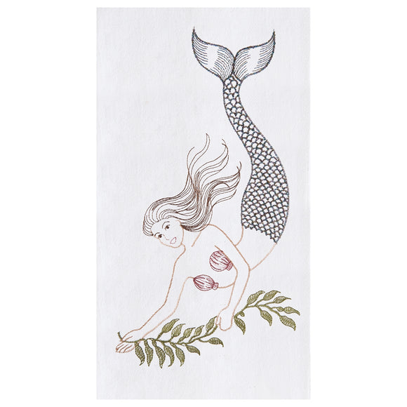 Mermaid - Flour Sack Kitchen Towel