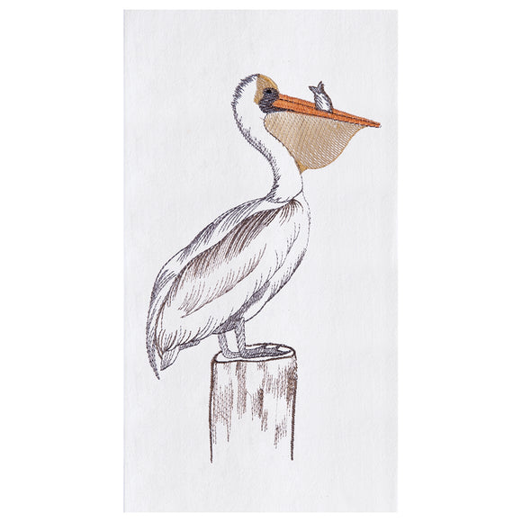Pelican - Flour Sack Kitchen Towel