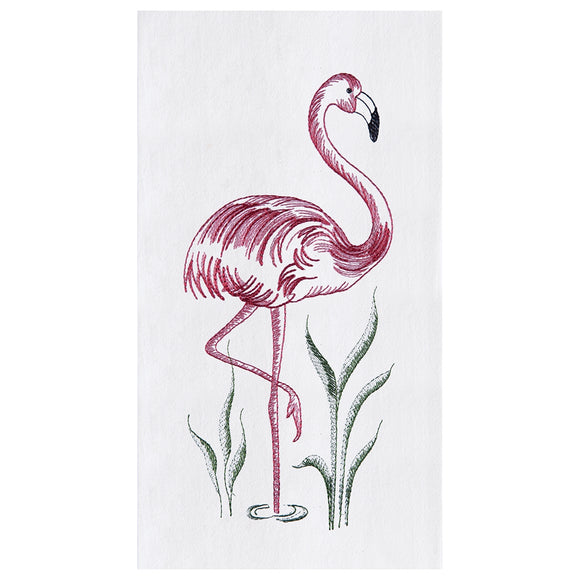 Flamingo - Flour Sack Kitchen Towel
