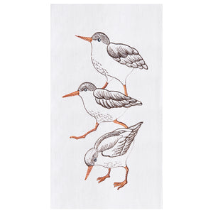 Sand Pipers - Flour Sack Kitchen Towel