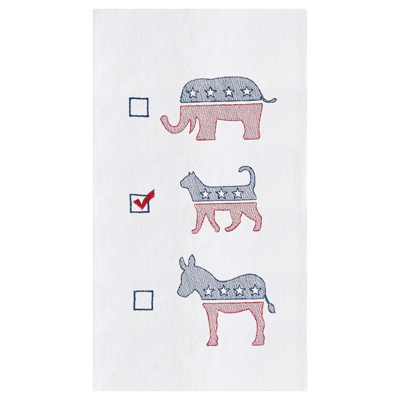 Cat Political Party Towel